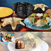 Taco Bowl,Auykoop Perfect Black Tortilla Baking Not Fried Mould Pan Great Non-Stick Kitchen Cooking Tools