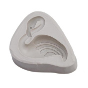Gluckliy Swan Flamingo Silicone Mould DIY Sugar Craft Chocolate Moulds Fondant Cake Decorating Tools Baking Mould, Grey
