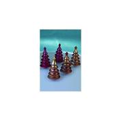 Martellato 3D Christmas Tree Mould, 58 x 100 mm, Polycarbonate, 27.5 x 17.5 x 30 cm