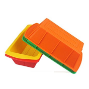 Inovey Silicone Toast Cake Mould Pan Cake Baking Moulds Moulds Multifunction Baking Tools