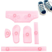 CHIC*MALL Shoes Shape Plastic Cake Biscuits Fondant Moulds Cake Decorating Tool