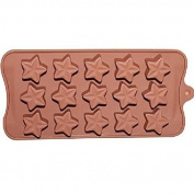 JuShen Chocolate Star Shape Silicone Mould for DIY Tools