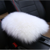 Amiley Car Plush Warm Seat Cushions Armrest Centre Consoles Cushion Pillow Pad for Car Motors Auto Vehicle
