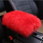 Amiley Car Plush Warm Seat Cushions Armrest Centre Consoles Cushion Pillow Pad for Car Motors Auto Vehicle