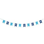 WEIYI Creative Wedding Birthday Party Decor Flags Banner Bunting