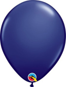 28cm Round Navy Latex Balloon