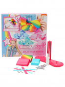 M & Co Jojo Siwa Character Multi-Coloured Ribbon Hair Bow Maker Craft Set Multicolour One Size
