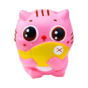 Sylvia QE Decompression Toys Kawaii Cute Jumbo Slow Rising Squishes Animals Press Relief Squishy Toy for Kids and Adults