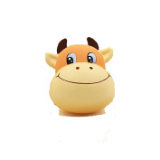 Sylvia QE Newest Slow Rising Jumbo Squishes Squishy for Kids and Adults in Office School or Home Decor 2 Pcs Cattle