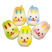 10 Pcs Sylvia QE Decompression Toys Kawaii Cute Jumbo Slow Rising Squishes Animals Press Relief Squishy Toy for Kids and Adults