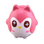2 Pcs Sylvia QE Decompression Toys Kawaii Cute Jumbo Slow Rising Squishes Animals Press Relief Squishy Toy for Kids and Adults