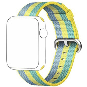 Inverlee Apple Watch Band,New Trend Woven Nylon Strap Band For Apple Watch Series 3 42mm