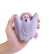 Aolige Squishies Slow Rising Jumbo Kawaii Cute Temperament Colour Change Halloween Ghosts Creamy Scent for Kids Party Toys Stress Reliever Toy