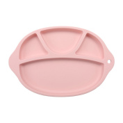 Silicone Placemat for Babies, Toddlers and Kids, Non Slip Feeding Food Tray, Portable Table Suction for Dining, Restaurant and more