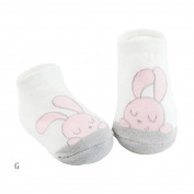 Cute Baby Toddler Cotton Anti Slip Skid Socks No-Show Crew Boat Sock For 0-24month