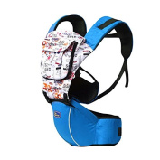 pinnacleT1 Baby Carrier Hip Seat Double-Shoulder Hold Belt Multi-Position Soft Structured Waist Stool for All Seasons