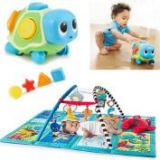 Baby Einstein Discovery Seas Multi Mode Gym & Ocean Explorers Crawl 'n Pop! Turtle Best Baby Toys