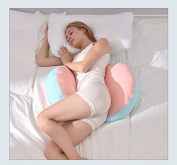 Miss.AJ Pregnancy Pillow Wedge for Maternity | Pillows Support Body, Belly, Back, Knees ,Cosy Body Pillow