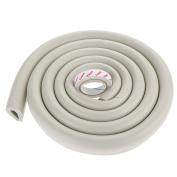 2Pcs 2m U-Shape Baby Child Safety Corner Protector Table Edge Corner Cushion Strip-Grey