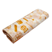 50 Pcs Oilproof Food Paper Baking Paper Parchment Candy Wrapper Hamburger Wax Paper, N