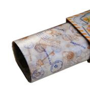 50 Pcs Oilproof Food Paper Baking Paper Parchment Candy Wrapper Hamburger Wax Paper, E
