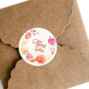 Cookies Package Stickers ¡ªHUPLUE 30Sheets Cake Cookies Package Round Labels THANKYOU Paper Stickers for Chocolate Bread Candy