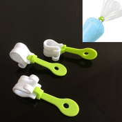 JD Million shop 3pc Cake Decorating Bag Clips DIY Piping Decorating Bag Buckles Reusable Baking Tools Holds ZH01047