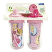 Princess Insulated Sippy Cup 270ml 2 Pack