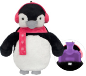 HomeTop Premium Classic Rubber Hot Water Bottle with Cute 3D Animal Cover