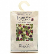3 x Forest - Scented Sachet for Drawers & Wardrobes