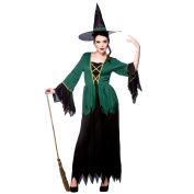 (Xl) Cauldron Witch Ladies Witch Costumes for Adult Womens Witches Halloween Trick Treat Party Fancy Dress Up Outfits