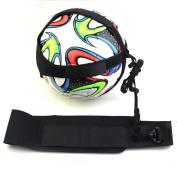 Soccer Adjustable Waist Belt,tosangn Soccer Football Kick Throw Trainer Solo Practise Training Aid Control Skills Adjustable Waist Belt