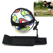 GTIA Football Kick Trainer Training Aid Hands free Kick with Adjustable Waist Belt