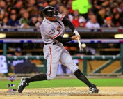 Hunter Pence San Francisco Giants 2012 World Series Game 4 Action Photo 8x10