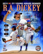 RA Dickey New York Mets 2012 NL Cy Young Composite Photo 8x10