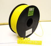 3D Printer Filament PLA 3mm - Yellow - 1Kg - Reprap 3.00mm