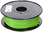 3D Prima TW-FLX300GN TPE Flexible Filament, 3 mm, 1 kg Spool, Green