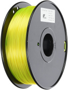 3D Prima TW-PET175YE PETG Filament, 1.75 mm, 1 kg Spool, Yellow
