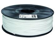 "3 mm (1/8"") PLA FILAMENT - WHITE - 1 kg / 2.2 lb"