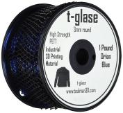 3D Prima 10139 Taulman Print Filament, T-Glase, PETT, 3 mm, Orion Blue