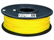 """3 mm (1/8"""") PLA FILAMENT - YELLOW - 1 kg / 2.2 lb"""
