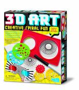 4M Creative Spiral Fun 3D Art