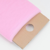 BBCrafts Pink Polyester Tulle Fabric Bolt 140cm 40 Yards