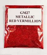 (GH27 - Metallic Red Vermilion 10g) Cosmetic Glitter Glitter Eyes Glitter Tattoo Glitter Lips Face And Body Bath Bombs Soap