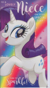 My Little Pony Birthday Card - Niece