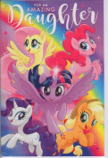 My Little Pony Birthday Card - Daughter