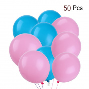 TOYMYTOY 50pcs 30cm 2.8g Heart Latex Balloons Creative Party Balloons Decoration Supplies
