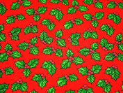 Christmas Polycotton Range - Holly