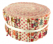 Fabric Freedom Scandi 3 Freedom Roll, 100% Cotton, Multicoloured, 13 x 13 x 7 cm