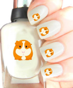Easy to use, High Quality Nail Art Decal Stickers For Every Occasion! Ideal Christmas Present / Gift - Great Stocking Filler Guinea Pig